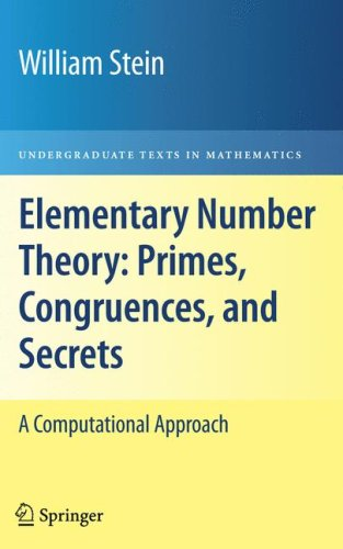 Large book cover: Elementary Number Theory: Primes, Congruences, and Secrets