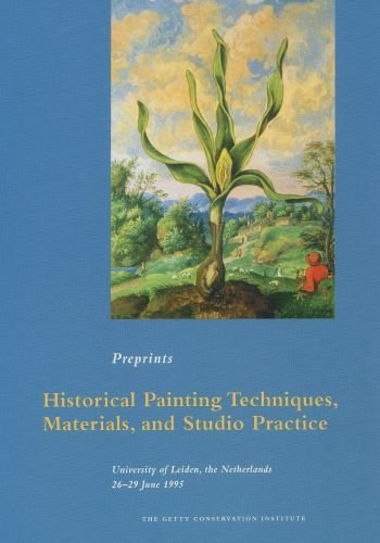 Large book cover: Historical Painting Techniques, Materials, and Studio Practice