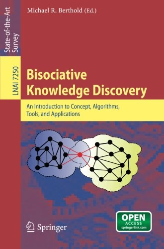 Large book cover: Bisociative Knowledge Discovery