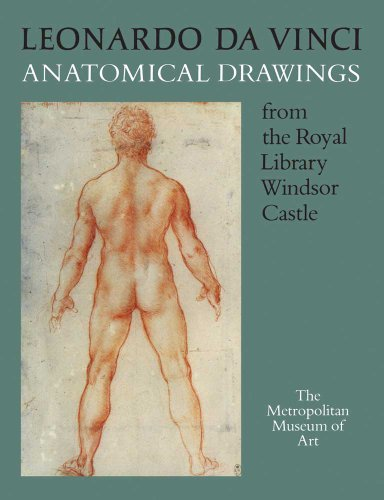 Large book cover: Leonardo da Vinci: Anatomical Drawings from the Royal Library, Windsor Castle