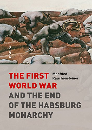 Large book cover: The First World War and the End of the Habsburg Monarchy, 1914-1918