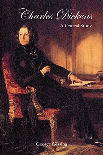 Large book cover: Charles Dickens: A Critical Study