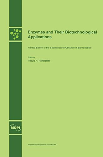 Large book cover: Enzymes and Their Biotechnological Applications