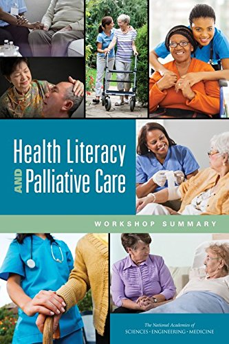 Large book cover: Health Literacy and Palliative Care