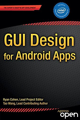 Large book cover: GUI Design for Android Apps