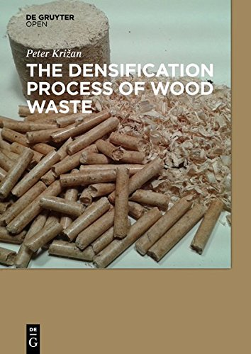 Large book cover: The Densification Process of Wood Waste