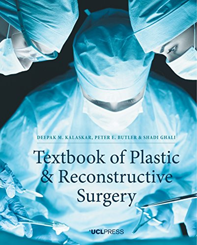 Large book cover: Textbook of Plastic and Reconstructive Surgery