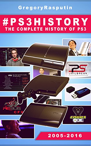 Large book cover: #PS3History: The Complete History Of The PS3