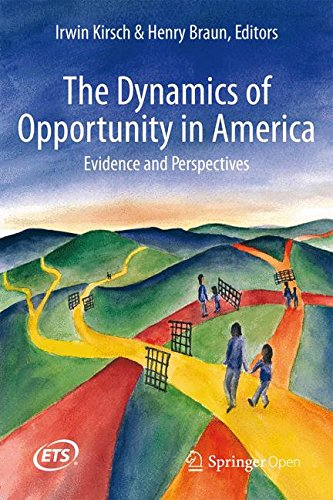 Large book cover: The Dynamics of Opportunity in America