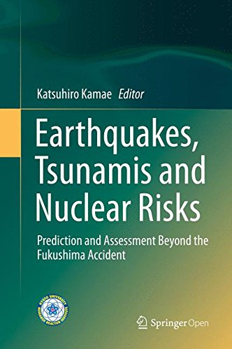 Large book cover: Earthquakes, Tsunamis and Nuclear Risks