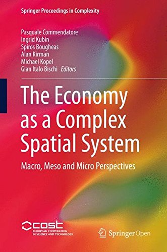 Large book cover: The Economy as a Complex Spatial System