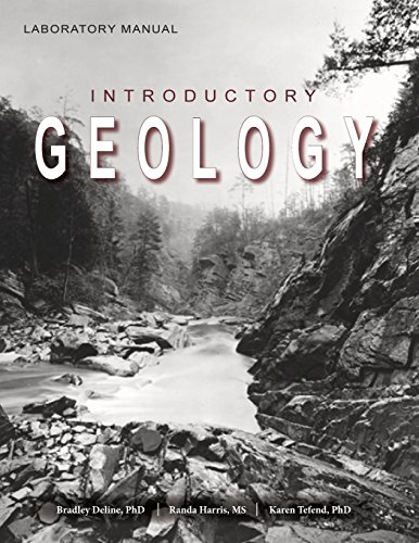 Large book cover: Laboratory Manual for Introductory Geology