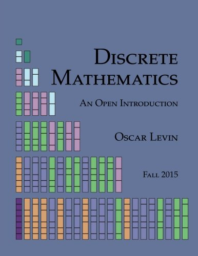 Large book cover: Discrete Mathematics: An Open Introduction
