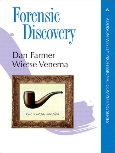 Large book cover: Forensic Discovery