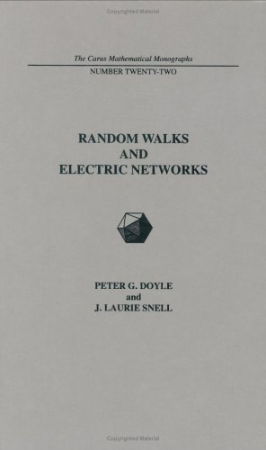 Large book cover: Random Walks and Electric Networks