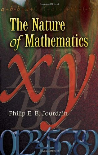 Large book cover: The Nature of Mathematics