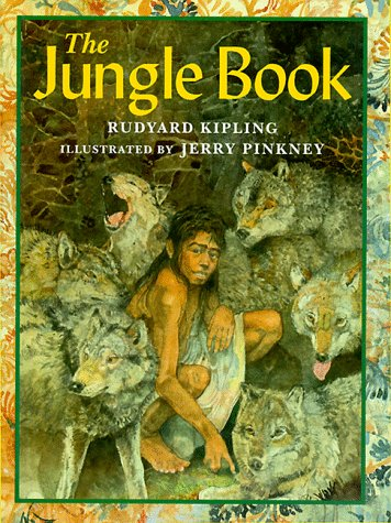 Large book cover: Jungle Book