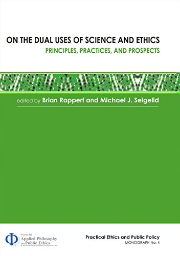 Large book cover: On the Dual Uses of Science and Ethics