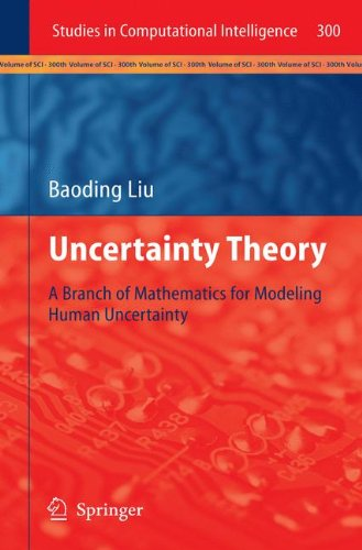 Large book cover: Uncertainty Theory