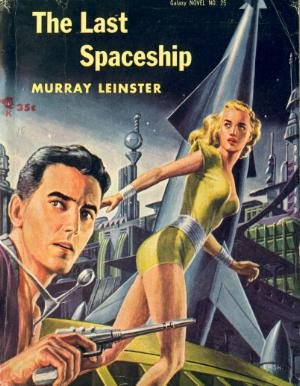 Large book cover: The Last Spaceship