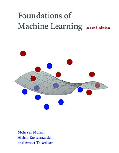 Large book cover: Foundations of Machine Learning