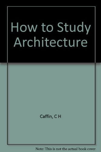 Large book cover: How to Study Architecture