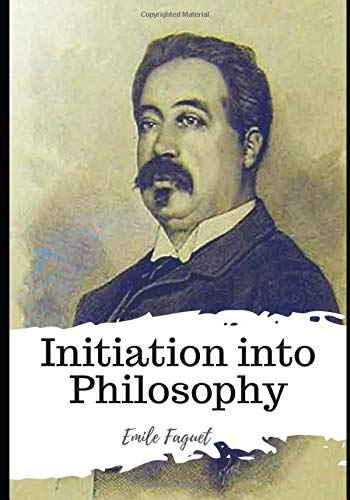 Large book cover: Initiation into Philosophy
