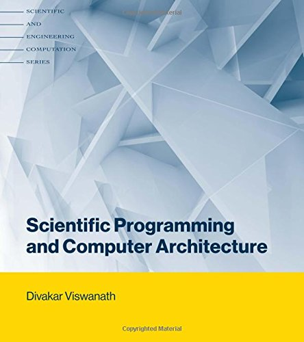 Large book cover: Scientific Programming and Computer Architecture