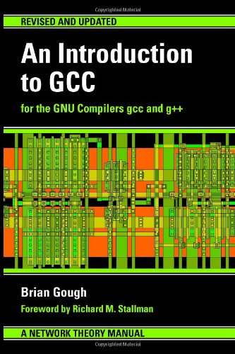 Large book cover: An Introduction to GCC