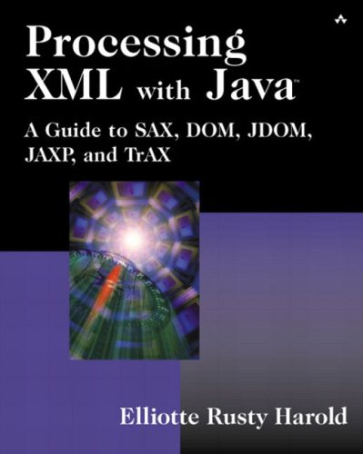 Large book cover: Processing XML with Java