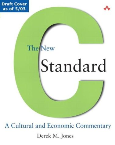 Large book cover: The New C Standard