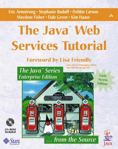 Large book cover: The Java Web Services Tutorial