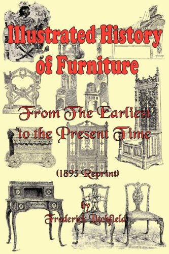 Large book cover: Illustrated History of Furniture