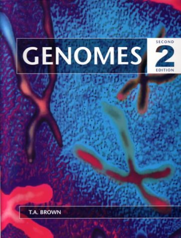 Large book cover: Genomes