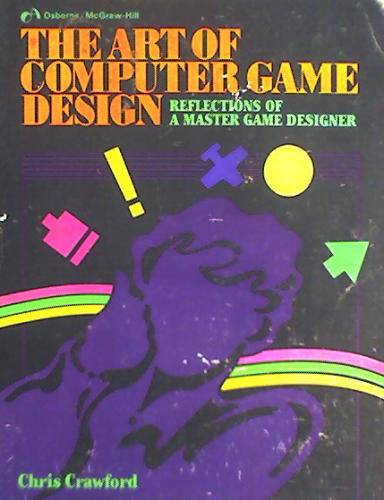 Large book cover: The Art of Computer Game Design