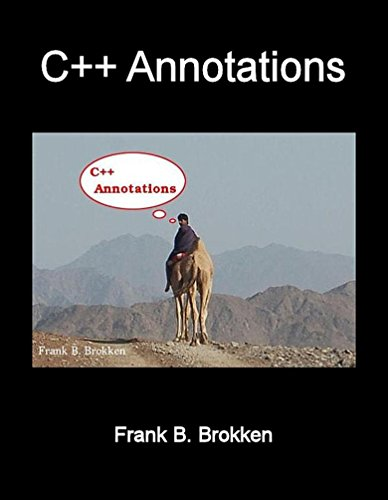 Large book cover: C++ Annotations