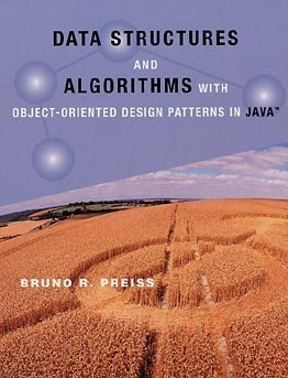 Large book cover: Data Structures and Algorithms with Object-Oriented Design Patterns in Java
