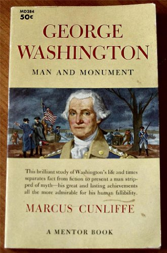 Large book cover: George Washington Man and Monument