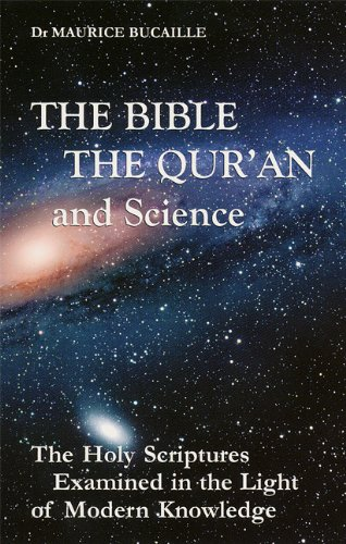 Large book cover: The Bible, the Quran and Science