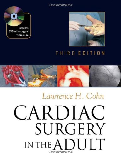 Large book cover: Cardiac Surgery in the Adult