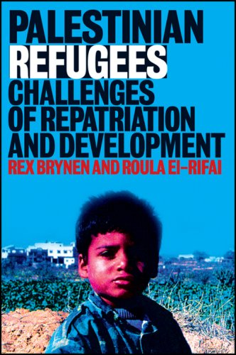Large book cover: Palestinian Refugees: Challenges of Repatriation and Development