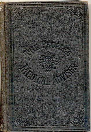 Large book cover: The People's Common Sense Medical Adviser in Plain English