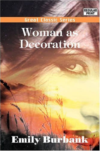 Large book cover: Woman as Decoration