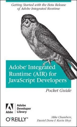 Large book cover: Adobe Integrated Runtime (AIR) for JavaScript Developers Pocket Guide