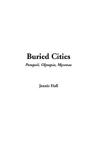 Large book cover: Buried Cities