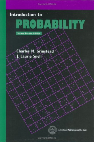 Large book cover: Introduction to Probability