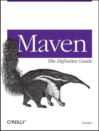 Large book cover: Maven: The Definitive Guide