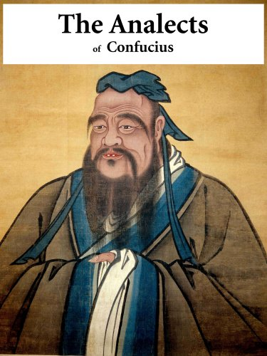Large book cover: The Analects of Confucius