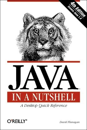 Large book cover: Java in a Nutshell