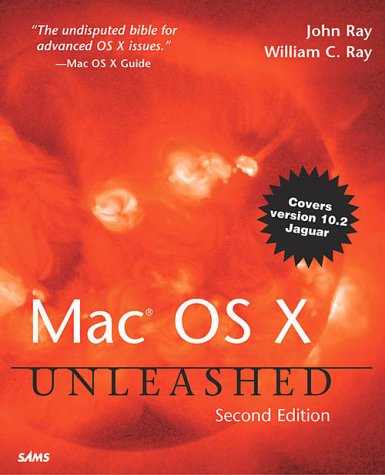 Large book cover: Mac OS X Unleashed
